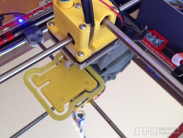 鲍登 Ultimaker2 打印头 3D模型  图3