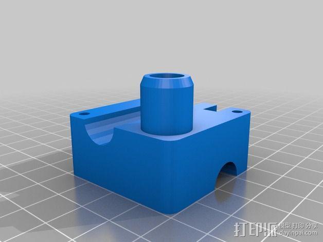 鲍登 Ultimaker2 打印头 3D模型  图9