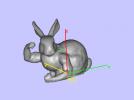小兔子 3D模型 图1