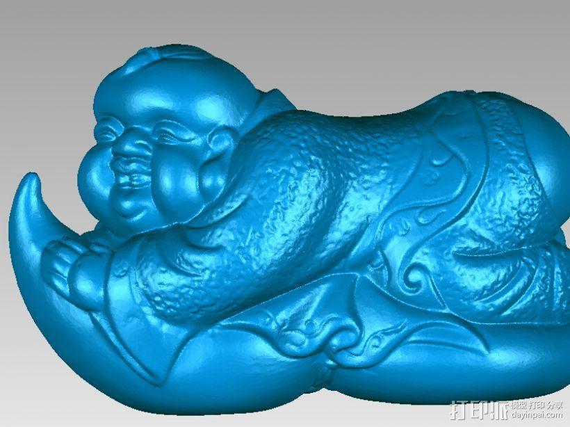 吉祥小朋友 3D模型  图2