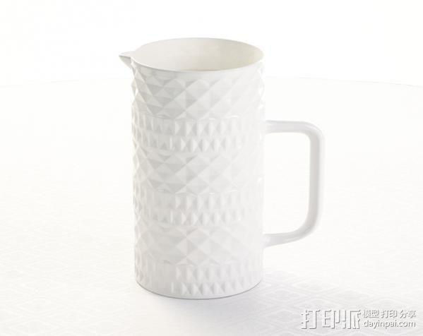 容器 杯子 3D模型  图1