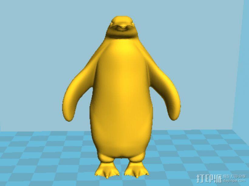 企鹅 3D模型  图3