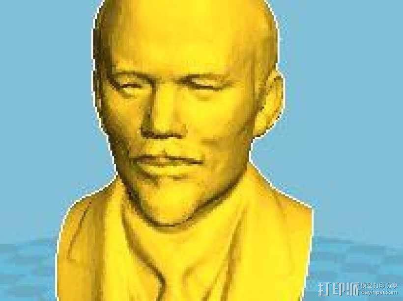 列宁 3D模型  图1