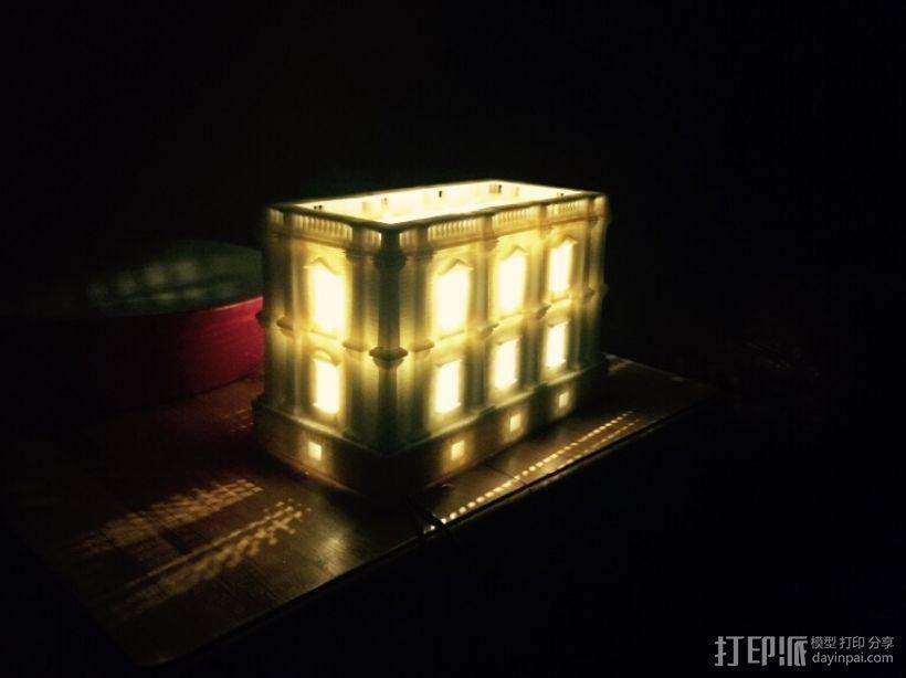 3D打印房子 3D模型  图1