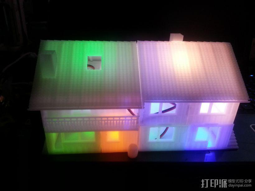 别墅 3D模型  图2