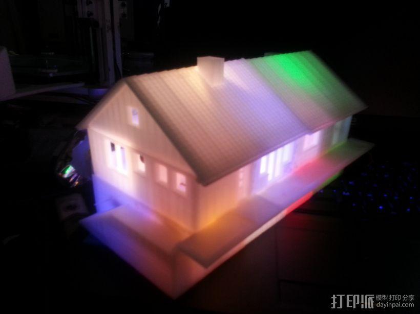 别墅 3D模型  图3