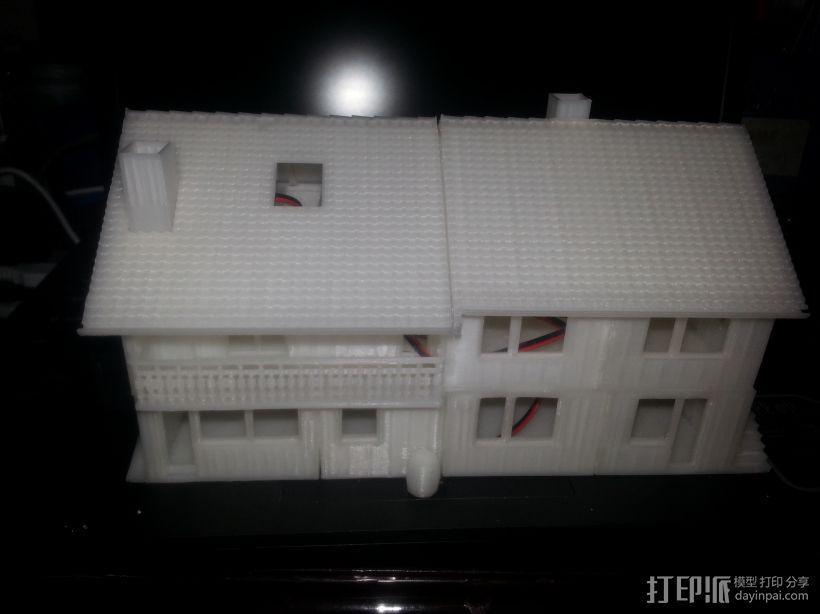 别墅 3D模型  图1