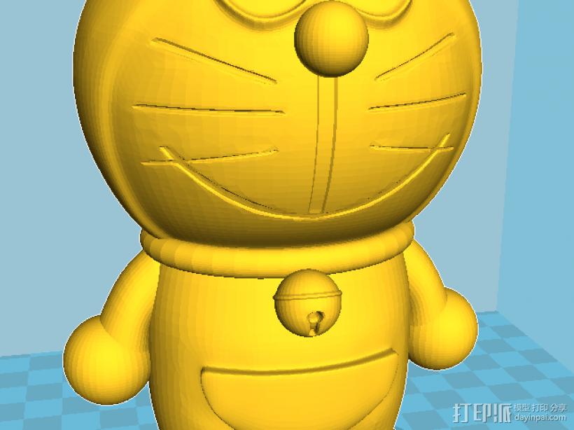 哆啦A梦 3D模型  图4