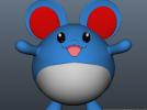 玛丽露-口袋妖怪 3D模型 图2