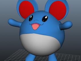 玛丽露-口袋妖怪 3D模型