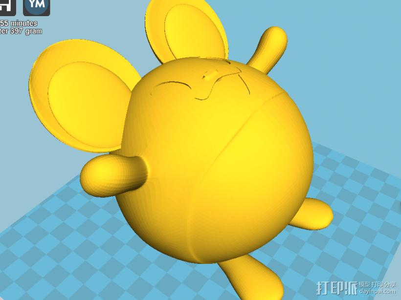 玛丽露-口袋妖怪 3D模型  图3