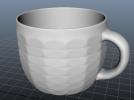 杯子盘子 3D模型 图2