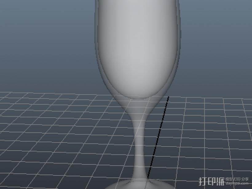 杯子盘子 3D模型  图3