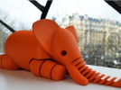 大象 3D模型 图1
