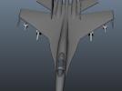 苏-27战机 3D模型 图2