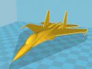 苏-27战机 3D模型 图3