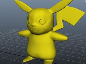 皮卡丘-神奇宝贝-口袋妖怪 3D模型