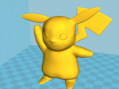 皮卡丘-神奇宝贝-口袋妖怪 3D模型 图4