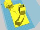 LOL圣诞阿木木笔筒 3D模型 图2