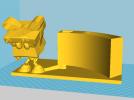 LOL圣诞阿木木笔筒 3D模型 图1