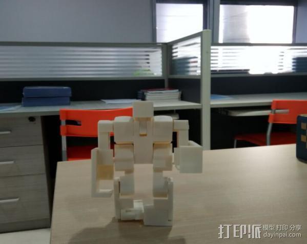 魔方机器人 3D打印制作  图1