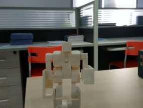 魔方机器人 3D打印制作