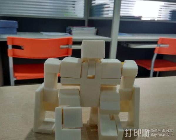 魔方机器人 3D打印制作  图2