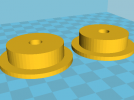 3D打印料盘滚轴roller 3D模型 图1