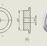 3D打印料盘滚轴roller 3D模型 图2