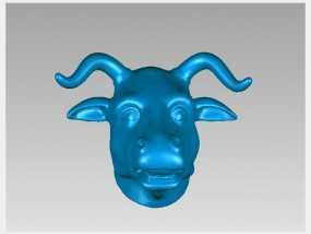 十二兽首-牛 3D模型