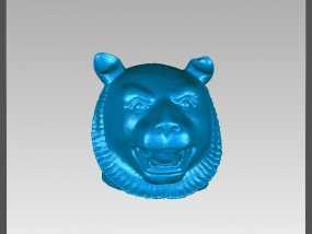 十二兽首-虎 3D模型