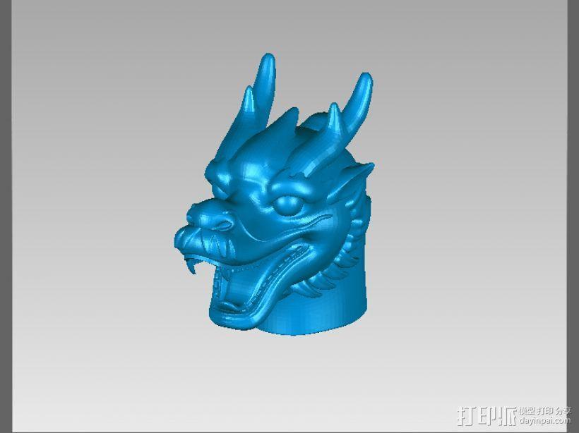 十二兽首-龙 3D模型  图1
