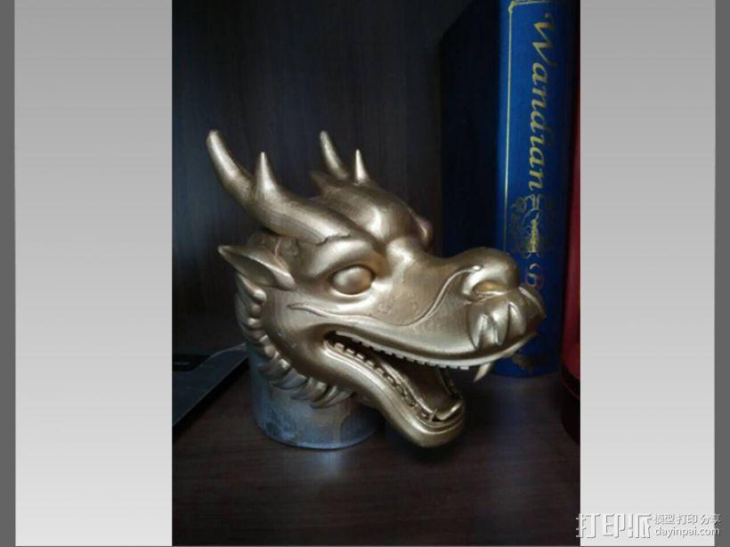 十二兽首-龙 3D模型  图3