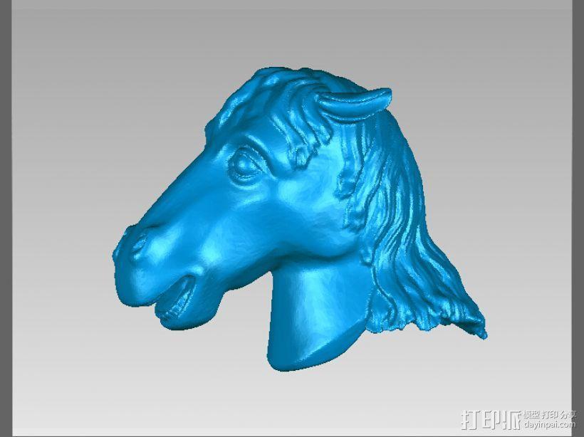 十二兽首-马 3D模型  图1