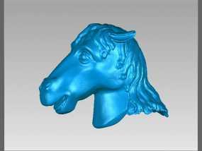 十二兽首-马 3D模型