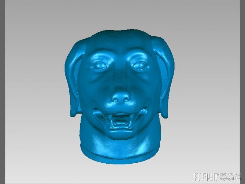 十二兽首-狗 3D模型  图1