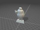Baymax大白3D打印STL模型 3D模型 图1