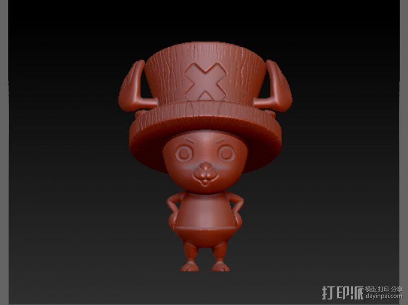 海贼王-乔巴 3D模型  图1