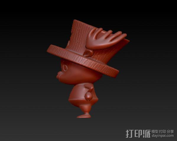 海贼王-乔巴 3D模型  图2