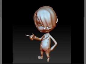 海贼王-香吉士 3D模型