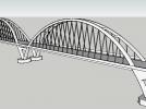 福元路大桥 3D模型 图1