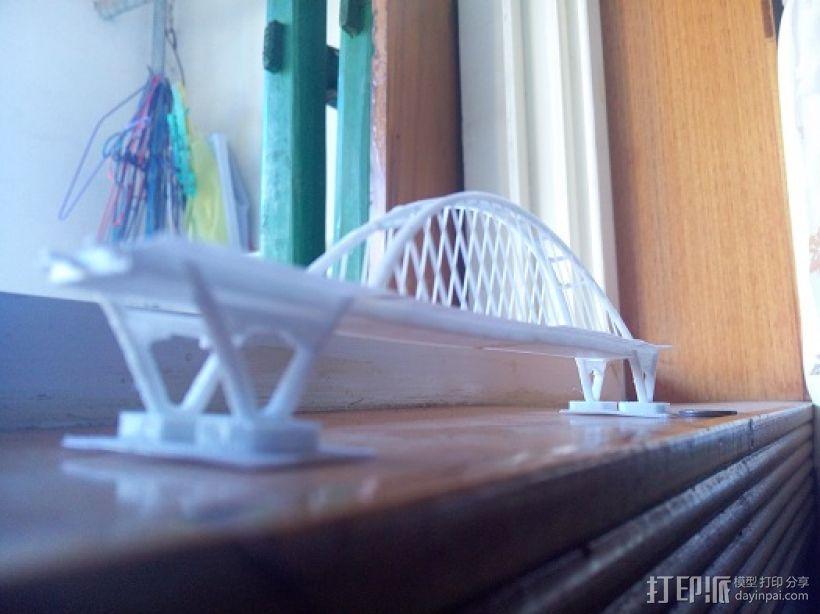 福元路大桥 3D模型  图2