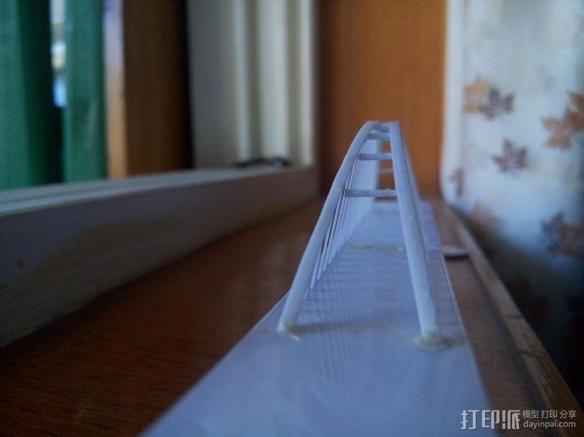 福元路大桥 3D模型  图3