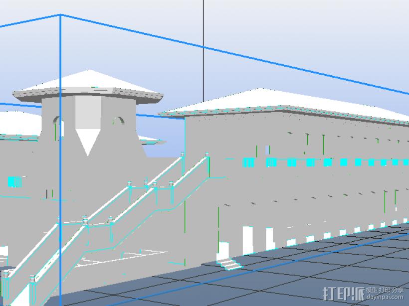 某污水处理站 3D模型  图1
