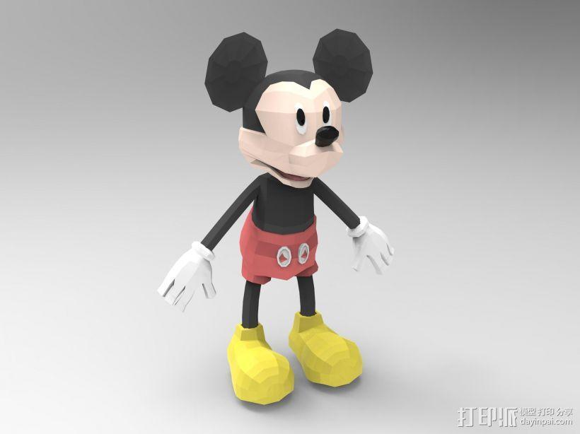 米奇,mickey 3D模型  图1