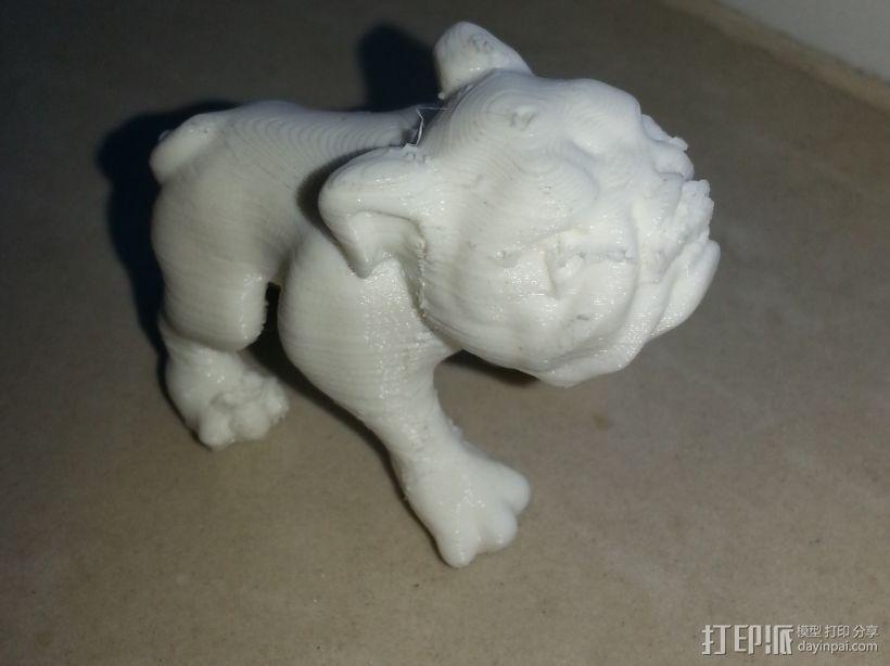 小狗狗 3D模型  图2