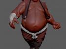 胖子 3D模型 图1