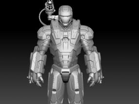 钢铁侠战争机器 3D模型