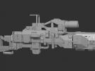 枪 3D模型 图1
