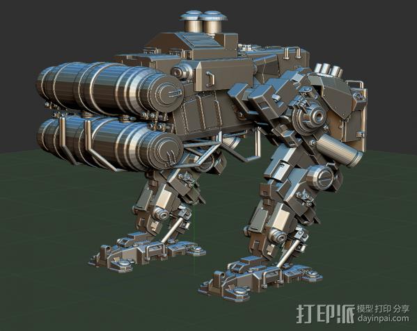 重甲机器 3D模型  图2